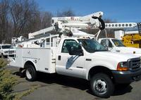 F550 Ford with Altec AT37G